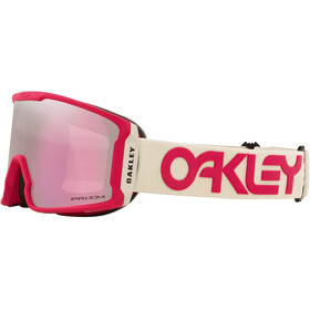 Oakley Line Miner XM Lunettes de ski Femme, factory pilot rubine grey/prizm snow hi pink